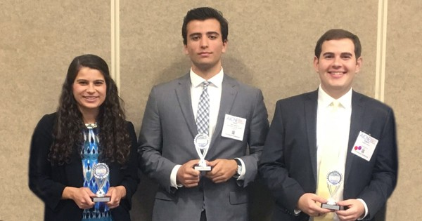 Winners at AIChE Annual Meeting