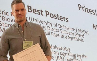 Salivary Gland Study Wins Best Poster Award at GRS