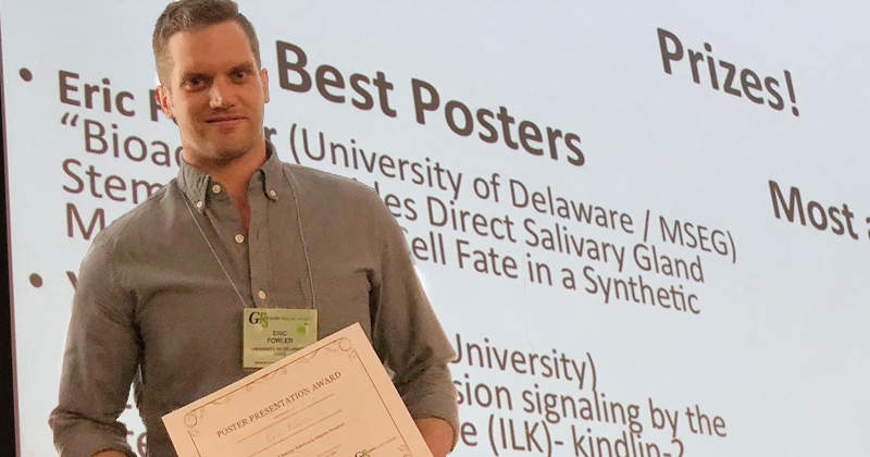 Salivary Gland Study Wins Best Poster Award at GRS